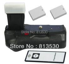 Aperto Da Bateria + IR Remote Control + 2X BG-E8 LP-E8 Baterias para Canon EOS 550D, 600D, 650D, 700D, Rebel Beijo X4 T2i, T3i, T4i Câmeras.