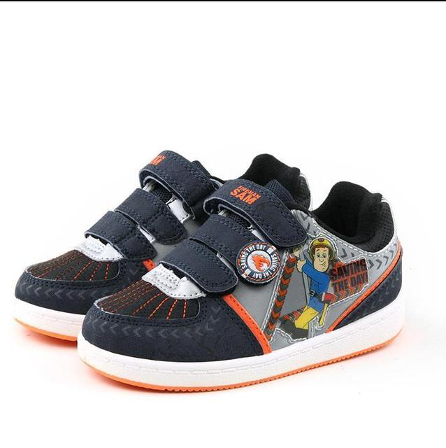 8e438c146e0 2017 Nieuwe Herfst & Lente Kinderschoenen brandweerman Flash Sport Sneakers  Schoenen voor Kids Kinderschoenen Jongens Meisjes