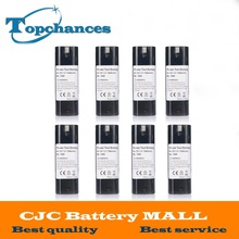 8PCS 7.2V 1500mAh NI-CD Power Tool Battery For MAKITA 7033 7002 7000 632003-2 191679-9 192532-2 Cordless Drill tool Battery