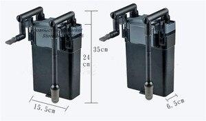 Image 2 - 1ピースsunsun HBL 802 6ワット黒簡単に使用壁掛け式外部フィルター水槽水族館フィルター機器