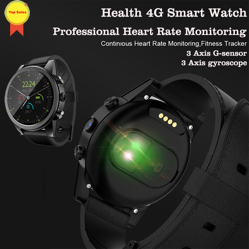 4G Smart phone Watch Men Wifi GPS android Smartwatch 32GB+3GB Quad Core 600mAh Crystal Display Watches Phone Calls pk THOR 4 PRO|Smart Watches| |  - title=