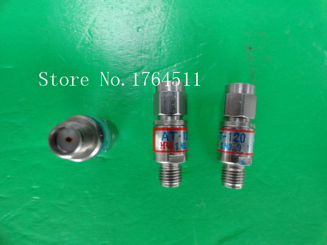 [BELLA] HRS AT-120 DC-18GHz 20dB 2W SMA Coaxial Fixed Attenuator  --3PCS/LOT