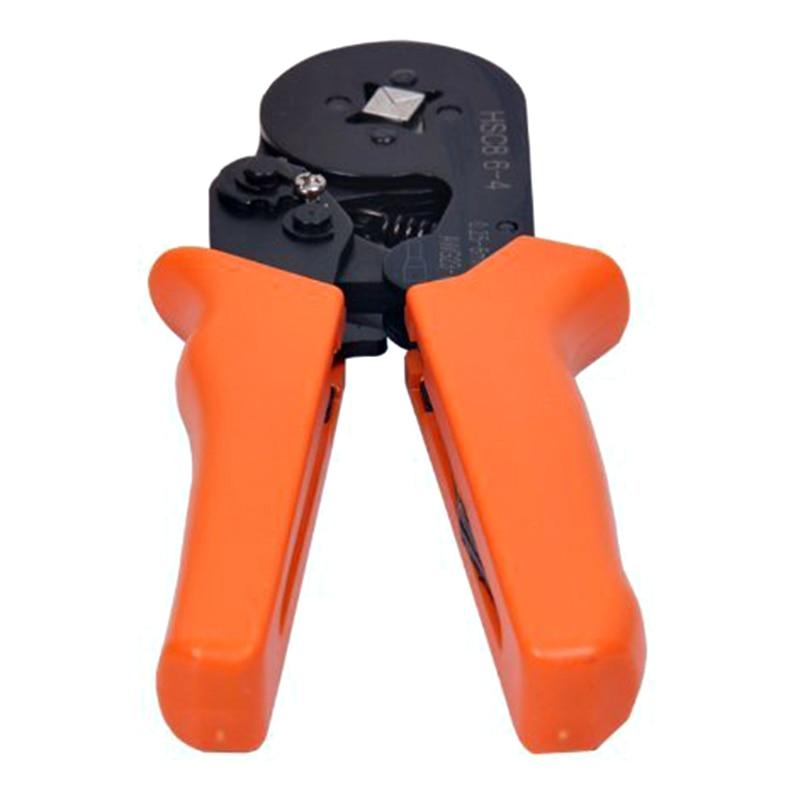 Handwerkzeuge Dsha Neue Heiße Anpassung Ratschen Platz Ferrule Draht Kabel Crimper Zange Crimpen Crimpzange Awg23-10 Orange Werkzeuge
