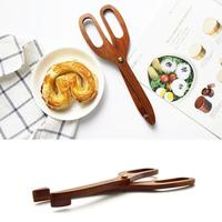 Wooden BBQ Tong Food Cooking Kitchen Gadgets Wholesale Bulk Lots Accessories Supplies Gear Items Stuff Products