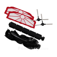 XR510 Side Brush Hair Brush Rubber Brush Filter Robot Vacuum Cleaner Spare Parts