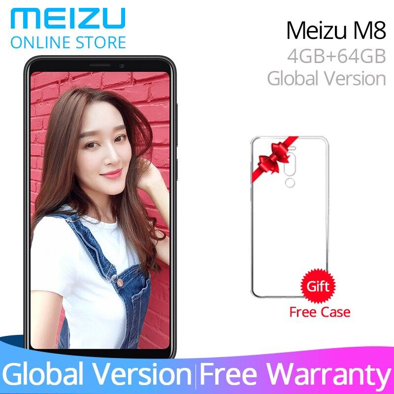 Meizu M8 Global Version V8 4GB 64GB ROM Cellphone MTK Helio P22 Octa Core 5.7