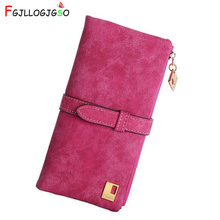 FGJLLOGJGSO Fashion Luxury Brand Designer Long Women Wallet Clutch Leather Tassel Zipper Purse With Card Holder Coin Money Bag