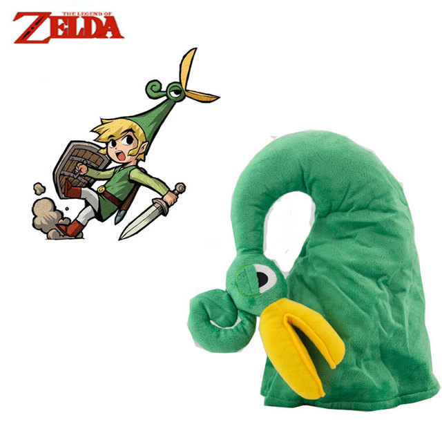 La leyenda de Zelda enlace del casquillo del sombrero juego Anime ...