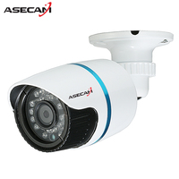 New Arrival 2MP IMX322 Mini HD CCTV Camera Outdoor White Small Metal Bullet 1920 1080P Security