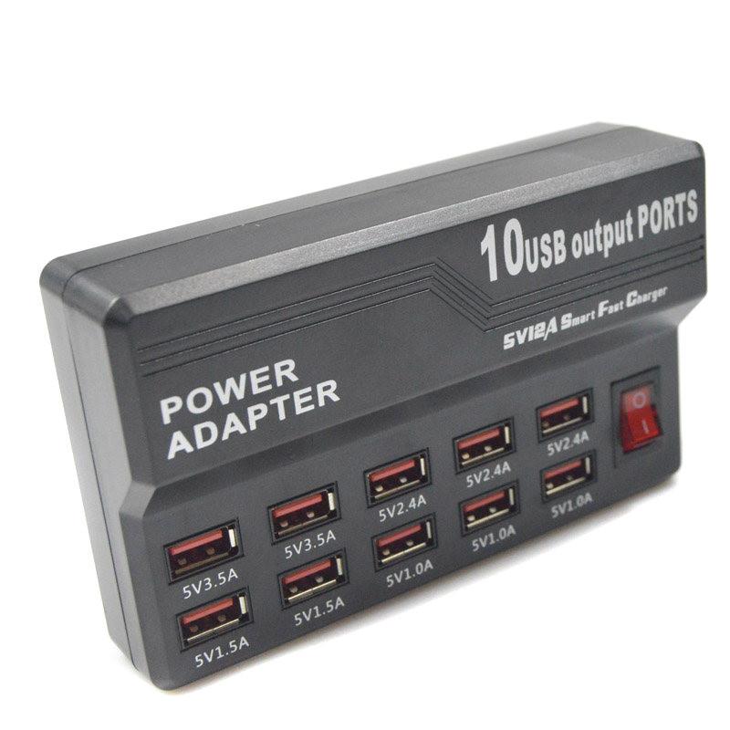10 port hi-speed usb 2.0 hub power adapter