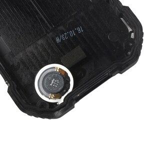 Image 2 - Alesser עבור Blackview BV6000 סוללה כיסוי מקרה עם מקרין סרט החלפת מגן סוללה כיסוי עבור Blackview BV6000