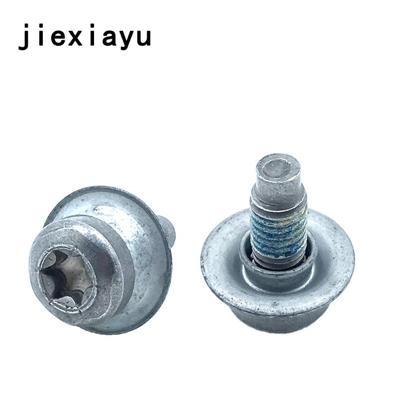 2PCS OEM Bottom splash plate screw For Beetle Caddy CC Golf Jetta Passat Tiguan A3 A8 Q3 Q7 TT Superb Octavia WHT 000 729 A