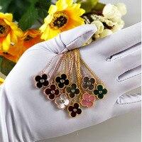Di alta qualità dell'argento sterlina 925 rhinstone pendente della collana per le donne