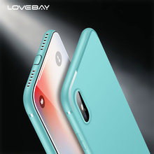 Lovebay Ultra Slim Matte Silicon Case For iPhone X 8 7 6 6S Plus Candy Solid Color Soft TPU Phone Cover Cases For iPhone 8 Plus