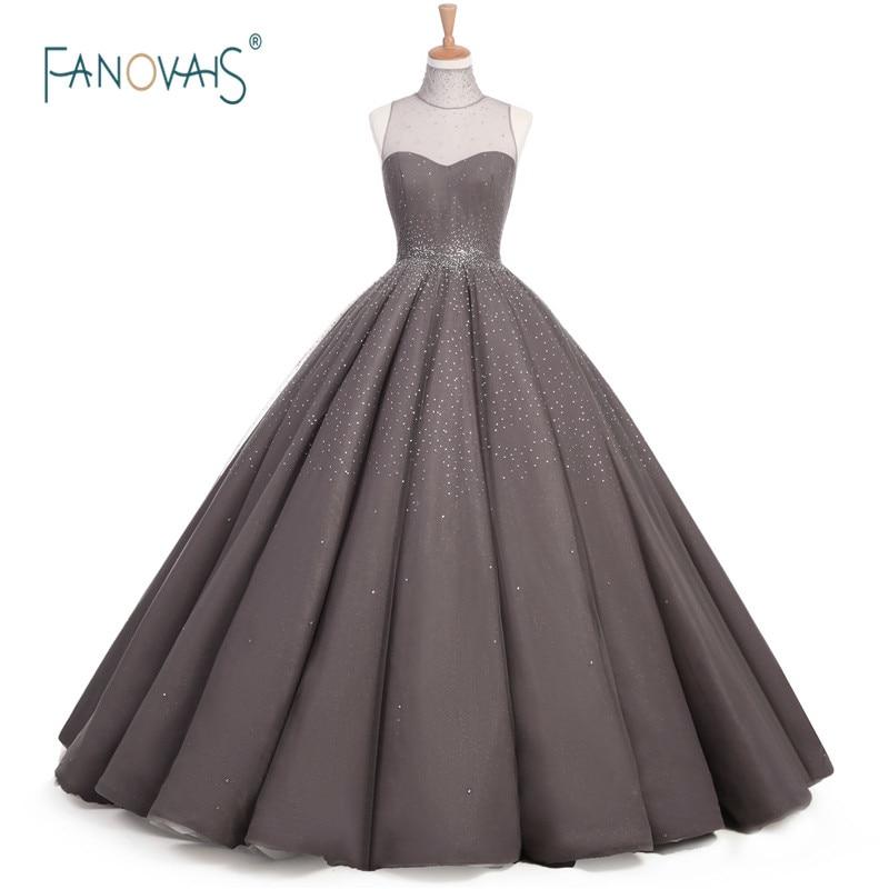 Luksuzne starinske večernje haljine Formalna večernja haljina Duga - Haljina za posebne prigode - Foto 1