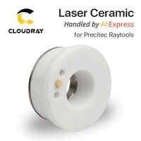 Cloudray Láser De Cerámica 28mm/24.5mm OEM Boquilla Precitec KT B2 Lasermech CON P0571-1051-00001 Para Láser De Fibra Cabeza de corte