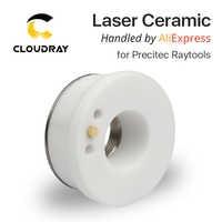 Cloudray Laser In Ceramica 28 millimetri/24.5 millimetri OEM Precitec Lasermech KT B2 CON P0571-1051-00001 Ugello Supporto Per Laser In Fibra testa di taglio