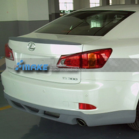 Fit For Lexus IS250 IS300 IS350 2007 2008 2009 2010 2011 2012ABS Plastic Rear Roof Spoiler Wing Trunk Lip Boot Cover Car Styling
