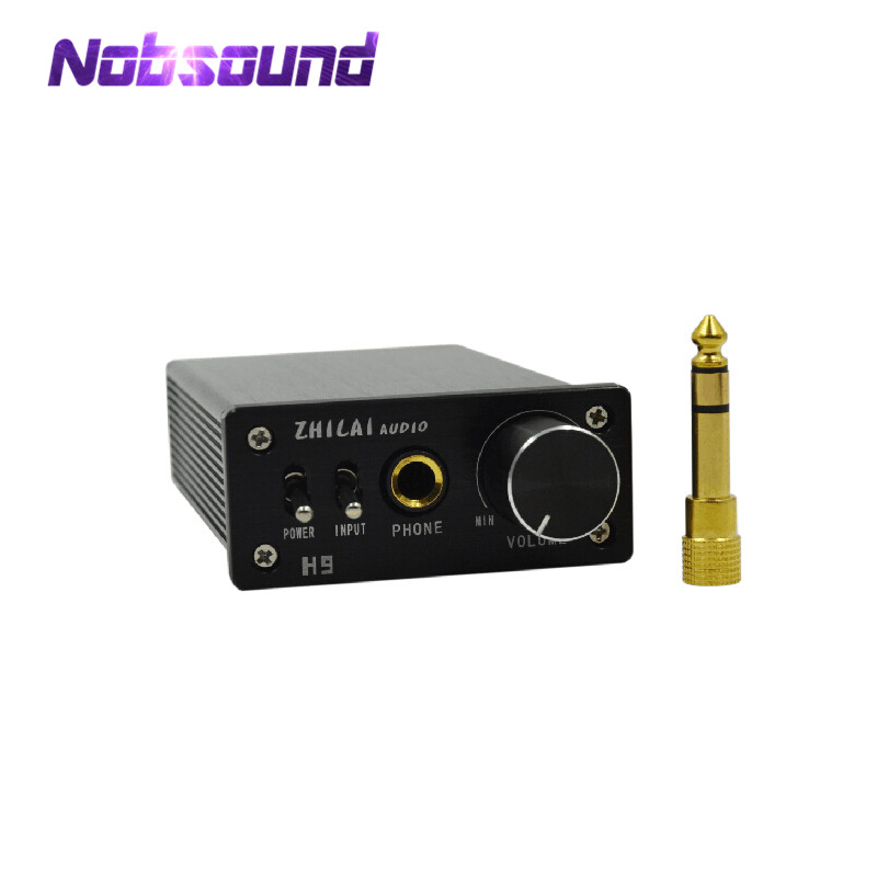 Nobsound HIFI Digital Headphone Amplifier Mini Desktop Computer Power AmplifierNobsound HIFI Digital Headphone Amplifier Mini Desktop Computer Power Amplifier