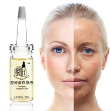 Collagen original fluid Eye Repair Face Care Dark circles Anti-Aging Moisturizing Whitening 10ml*2pcs moistfull collagen