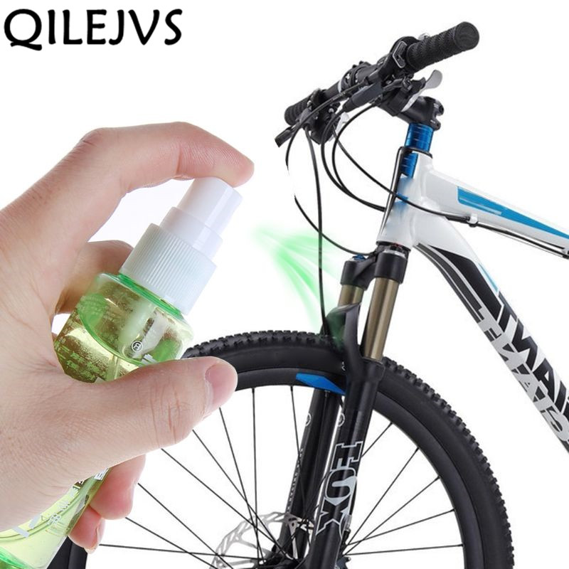 60ml Spray Bicycle Lubricant MTB Mountain Bike Front Fork Oil Cycling Damping Special Oil