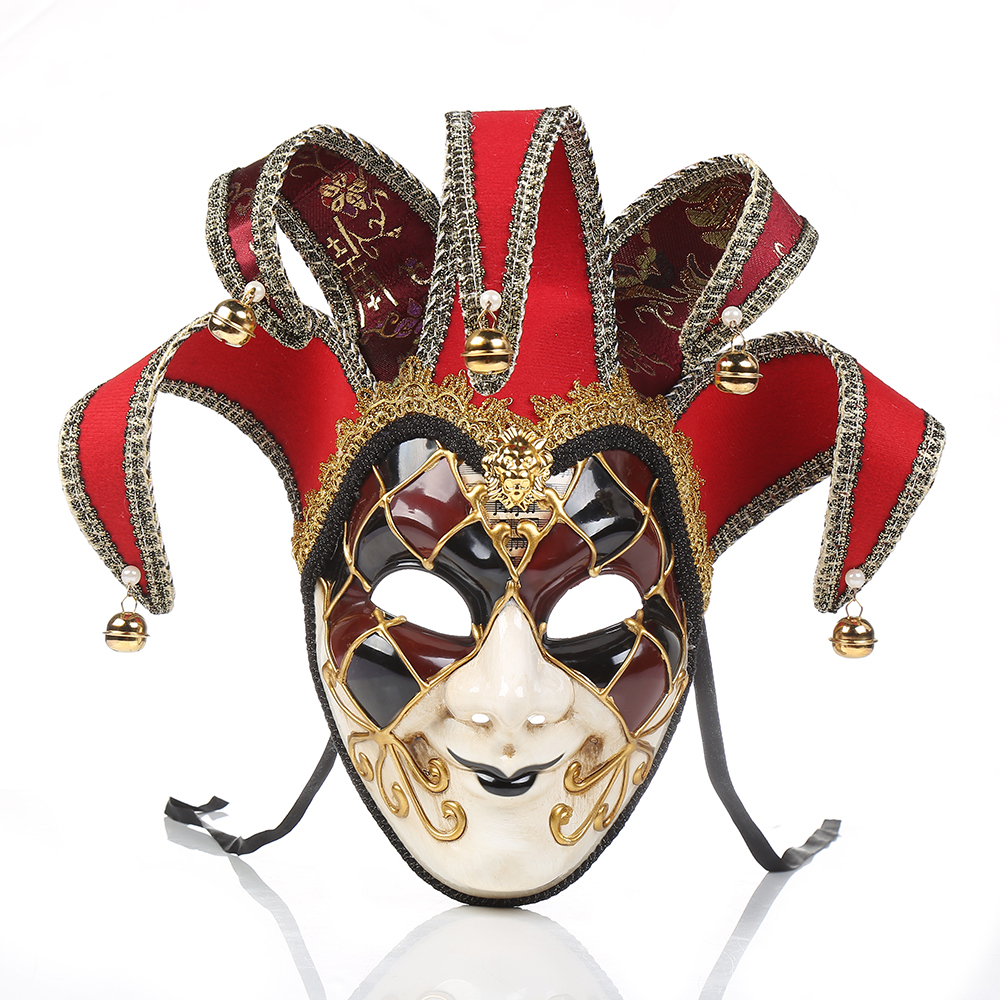 Festive Party Christmas Fancy Dress Party Venice Italy Full Face Anti-Ancient Mask