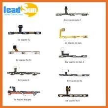 Replacement Power on/off Volume Button Key Flex Cable For xiaomi mi max note pro mi 3 4 5 5s plus 6 8 Side Key Button Flex Cable