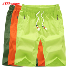 2019 New Summer Big Size 4XL Beach Shorts Men Sports Breathable Cotton Run Masculino Praia Pants Short Homme For