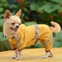 XS-XXL Köpekler Yağmurluk Rainwear 2016 Yeni Köpek Giyim Pet Giyim Dört Bacaklar Yağmurlu Favor Evcil Mont Yağmurluklar Moda Tasarım