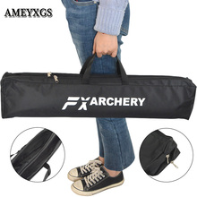 Archery Bow Bags Composite Fabric Double Layer Canvas Portable Bow Cases Handbag Camping Equipment Hunting Shooting Accessories
