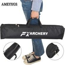 Bogenschießen Bogen Taschen Verbund Stoff Doppel Schicht Leinwand Tragbare Bogen Fällen Handtasche Camping Ausrüstung Jagd Schießen Zubehör