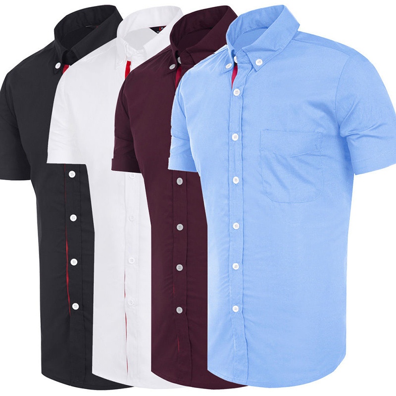 Short Sleeve Button Downs Promotion-Shop for Promotional Short ...