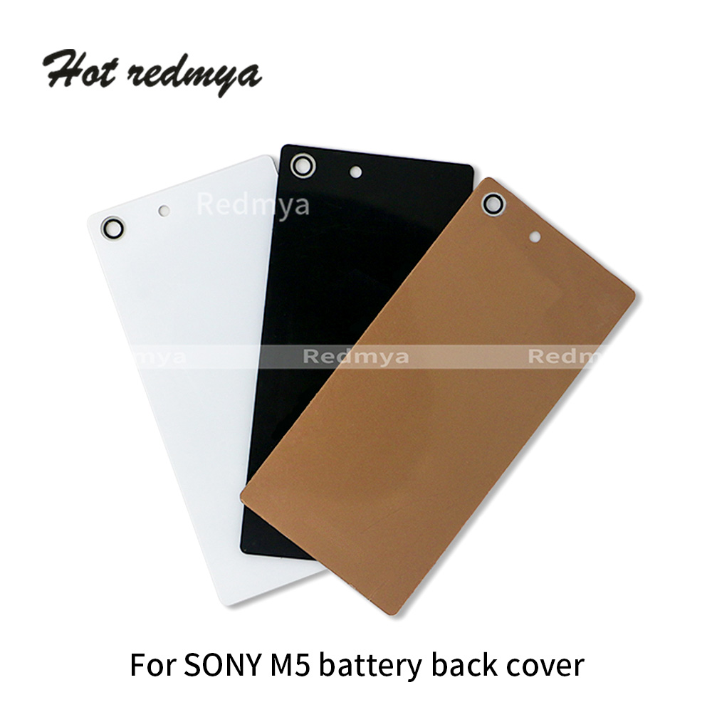 Back-Cover Battery Sony Xperia Repair-Parts Rear-Door-Housing-Case for M4 Aqua/E2303/E2333/..