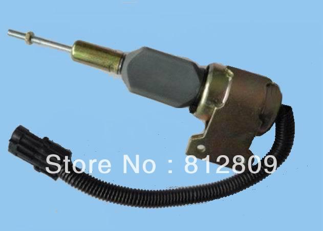 цена на DIESEL SHUT OFF SOLENOID 3932530 SA-4756-24, 5.9L 6BT Excavator Fuel cutoff solenoid, Solenoid Switch + free FAST SHIPPING
