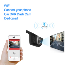 Novatek 96658 Coches DVR Full HD 1080 P Oculta Cámara de la Rociada WIFI Grabador de Vídeo Registrator Visión Nocturna Carcam Auto DVR Dash Cam