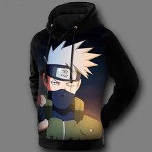 Naruto / Sasuke / Kakashi Hoodie Pullover in 17 Styles