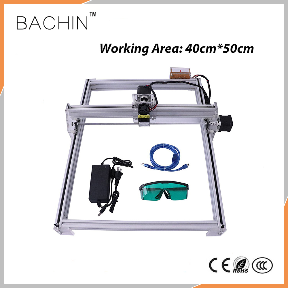 4050 Laser Cutter Engraver DIY Mini Laser Engraving Machine 40CM 50CM Work Area 12V USB 500MW