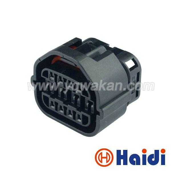 Free Shipping 2set Ket Auto 12pin Female Waterproof Plug