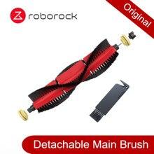 قطعة أصلية من فرشاة Roborock قابلة للفصل ، فلتر قابل للغسل قطعة قماش يمكن التخلص منها لهاتف Mi 1 1S Roborock S50 S55 S6 E20 E35 S5 MAX