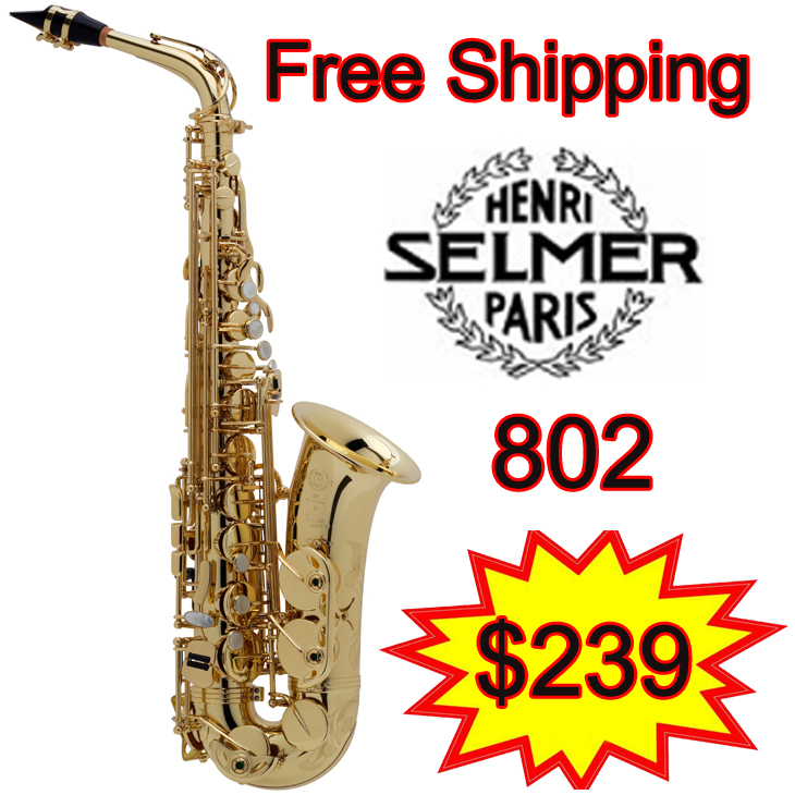 Promotions Free shipping New France Selmer Alto Saxophone 802 Professional E Sax mouthpiece With Case and Accessories brand new france selmer alto saxophone r54 professional e black white key sax mouthpiece with case and accessories