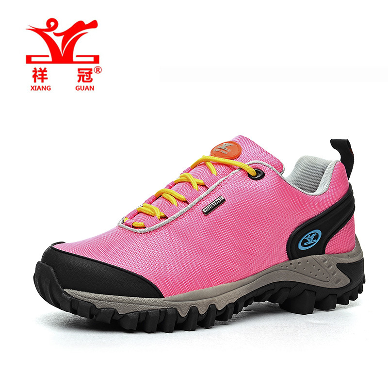 Original Brand New Oxford 2016 women s waterproof Breathable pink hiking shoes Climbing outdoor Trekking shoes