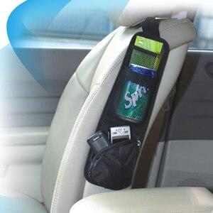 Image 3 - רכב ארגונית חזור חפצים תיק עבור Stowing לסדר אוטומטי מושב צד תיק תליית כיס שקיות ניילון ושונות מחזיק רכב  סטיילינג