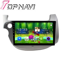 "Topnavi 10.1"" Quad Core Android 6.0 Car GPS Navigation For FIT 2008 2009 2010 For Honda Radio Audio Multimedia Stereo ,No DVD"