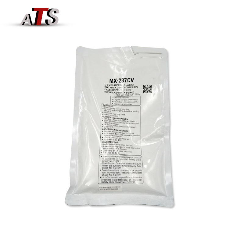 300g Black Developer Powder For Sharp MX 237CV 2048 2348 2648 Compatible MX237CV MX2048 MX2348 MX2648 Copier Spare Parts in Toner Powder from Computer Office