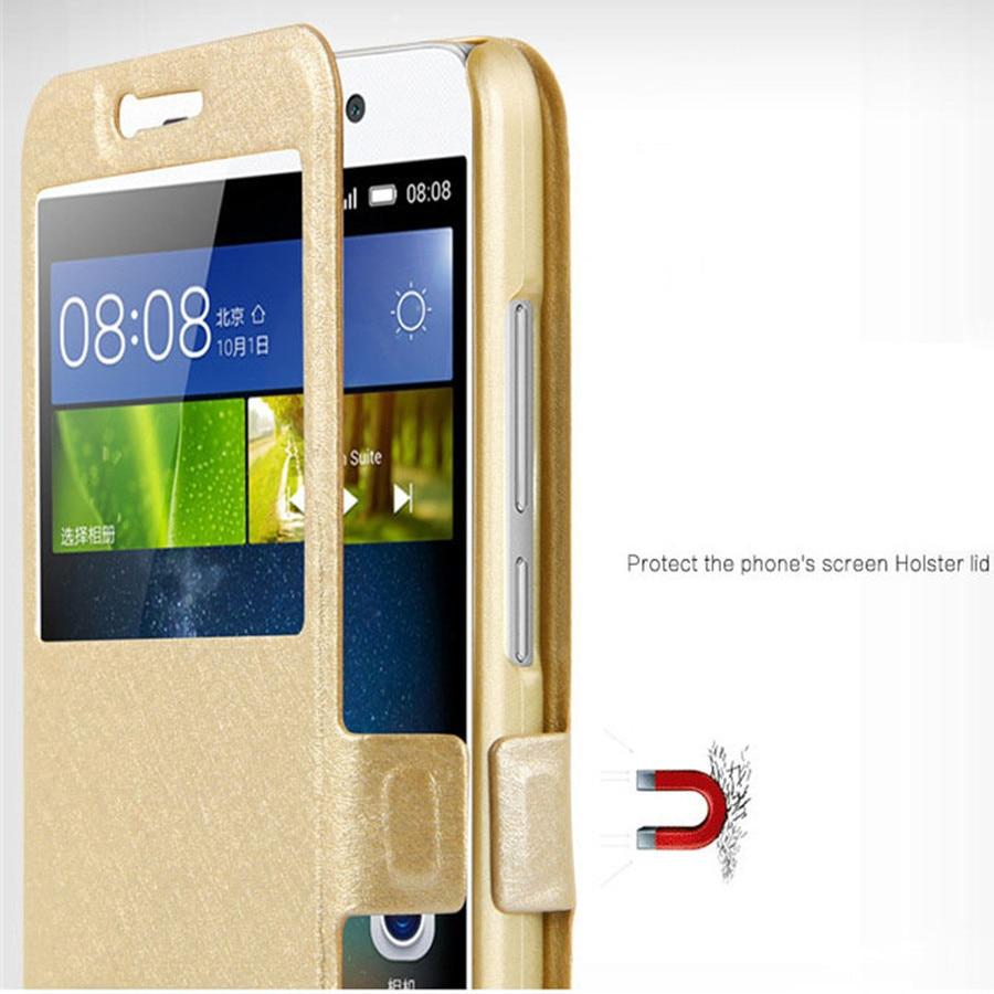 Luxury Front Window View Leather Flip Phone Case For Sony Xperia Z3 Z5 Xz Xzs Xz Xz1 Xz2 Xz3 Xz4 Mini Compact Premium Plus Cover in Flip Cases from Cellphones Telecommunications