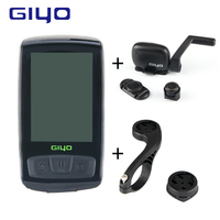 Wireless Bicycle Computer Bluetooth Speedometer Heart Rate Monitor Cycling Tachometer Waterproof Cycling Bike Computer Mount