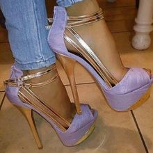 2015 Custom Made Women Shoes Thin High Heel Closed Toe Platforms Straps Gold 14cm High Heel Stilettos Fashion Back Zip Ankle