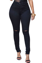 American Apparel Leggins Fitness For Women Ripped Skinny Jeans Calzas Mujer Fitness Leggings Jeans Fake Casual Workout Clothes