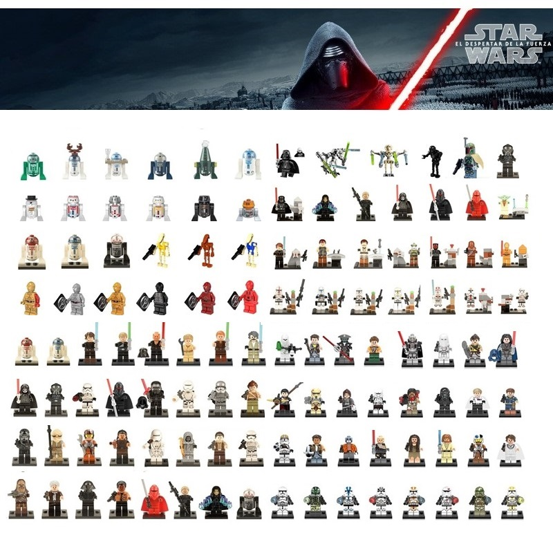 Single Sale  Star Wars Building Block Han Solo Anakin Darth Vader Yoda Jar Jar Toys Compatible  Starwars Figures