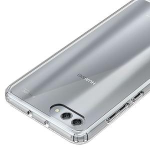 Image 4 - Huawei honor view 10 용 소프트 실리콘 tpu/pc 케이스 huawei honor v10 용 고급 fundas capa shockproof shell clear 하드 백 커버